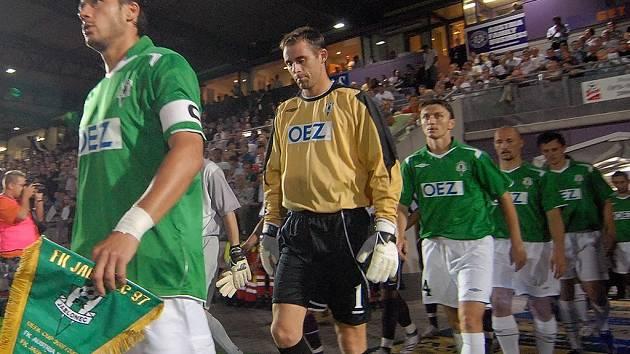 FK Jablonec 97 nastupuje k zápasu proti Austrii.