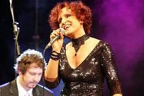 Petra Janů koncertovala v jabloneckém Městském divadle.