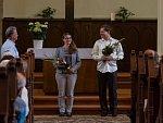 Další ze série letních koncertů v rámci akce Jablonecké kostely otevřeny 2018 proběhl 17. července v kostele Dr. Farského v Jablonci nad Nisou. V rámci vystoupení Německé baroko se představila Marie Zahrádková na varhany a Karel Chudý na violoncello.
