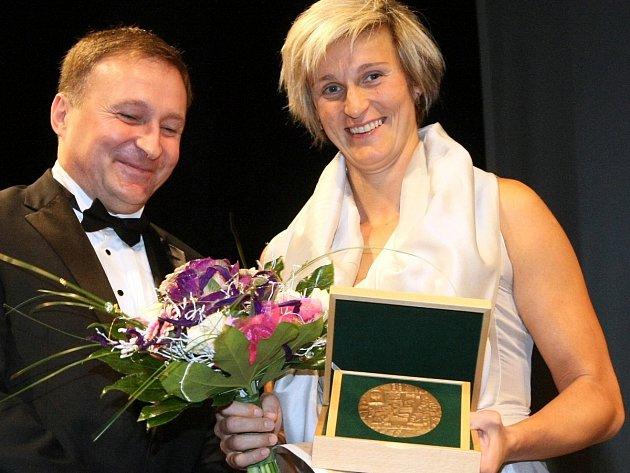 Barbora Špotáková získala z kraje letošního roku i Medaili pro čestné občanství Jablonce n. N.