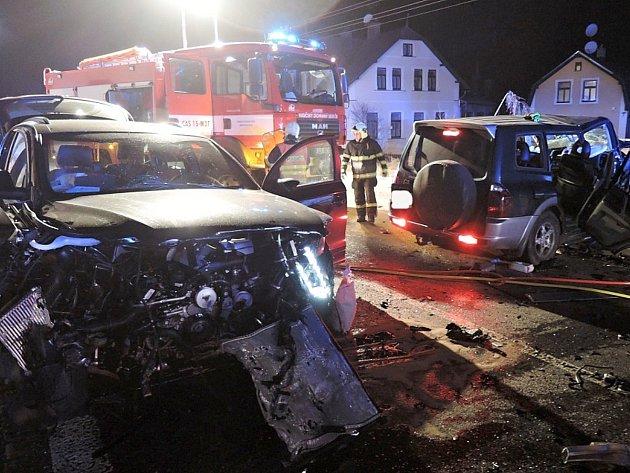 Vážná nehoda v Lučanech