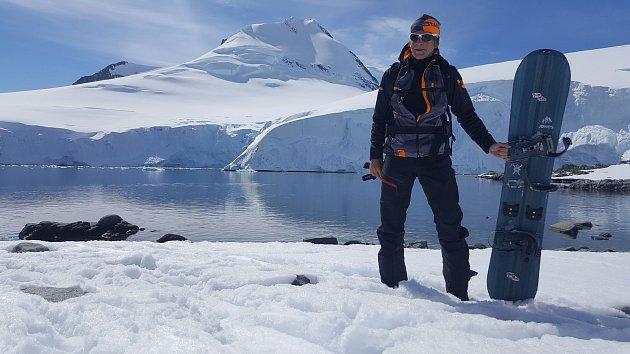 Martin Bauer z cesty po Antaktidě natočil s kolegy dokument.