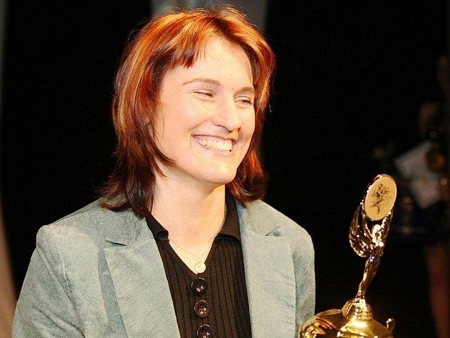 Akrobatka Nikola Sudová z Jablonce je nejúspěšnější sportovkyní Liberecka za rok 2008.