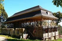 Rekonstruovaný Kittelův dům.