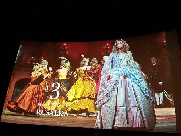 Přenosy z MET v New Yorku lákají milovníky do kina. Na Rusalku bylo v kině Radnice téměř vyprodáno.