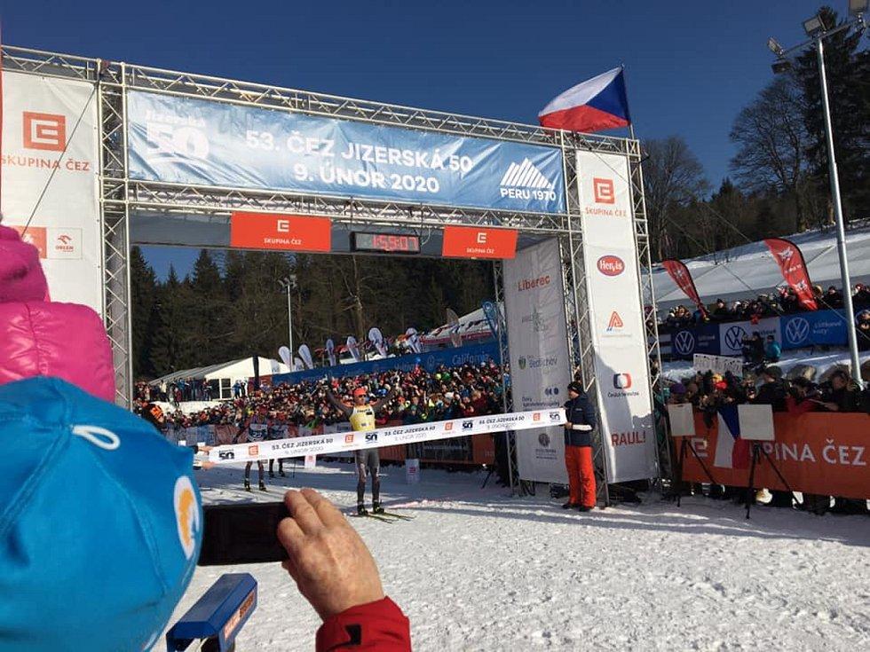 Andreas Nygaard se stal vítězem 53. ČEZ Jizerská 50.