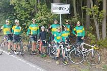 cyklisté v Krkonoších