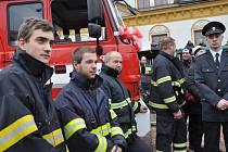 Nová Tatra je od prosince velkou chloubou dobrovolných hasičů ze Smržovky.