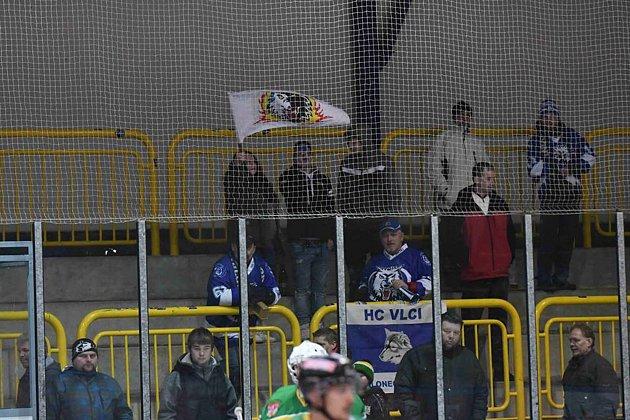 Zdalšího zápasu II. hokejové ligy přijeli Vlci ze Dvora Králové bez bodů.