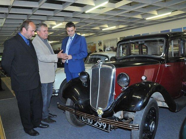 Technické muzeum v Liberci otevřeli loni i za účasti hejtmana Libereckého kraje Martina Půty.