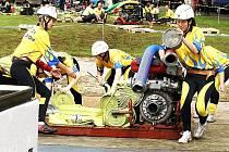 2. kolo Podkozákovské hasičské ligy 2009 ve Vesci. Ženy z Benešova u Semil obsadily kvalitním časem 17,73 druhé místo.