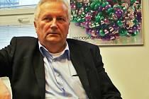 Generální ředitel Preciosa Ornela a. s. ing. Miroslav Šebesta