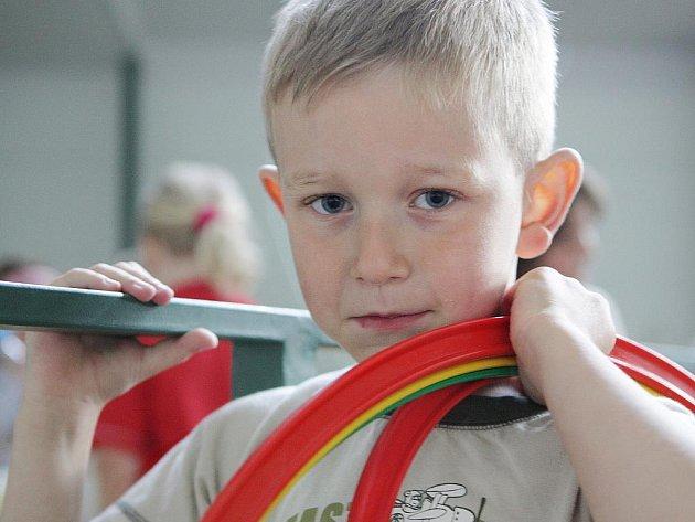 Cvičení i pro nejmenší. Týden pohybu pro nejmenší nazvalo svoji týdenní aktivitu Mateřské centrum Jablíčko v Jablonci nad Nisou.