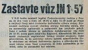 Výběr z denního tisku - srpen 1968