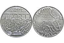 Stříbrná pamětní dvousetkoruna ke 100. výročí narození Karla Zemana.