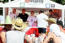 Tradiční Pivní slavnost pivovaru Svijany v areálu koupaliště ve Svijanském Újezdu.
