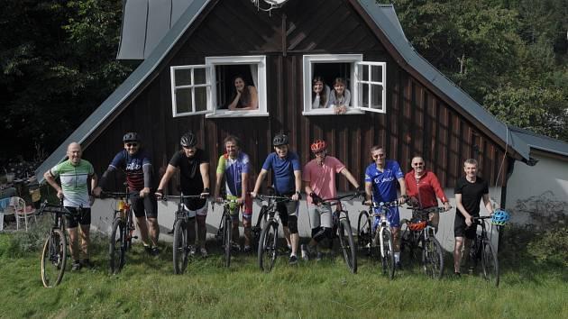 V Jizerských horách, konkrétně v Horním Maxově, se v sobotu 19. září konal triatlon pořádaný Martinem Vopěnkou.