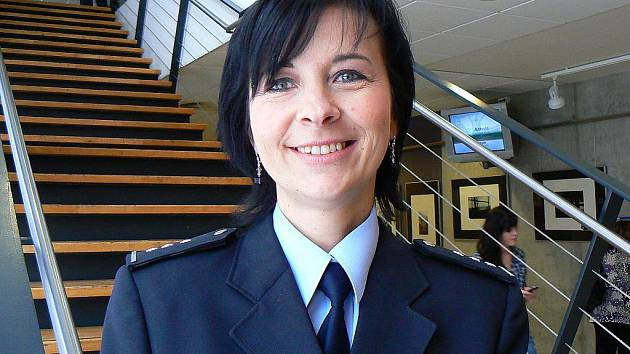 Dagmar Sochorová, policejní preventiska Jablonec.