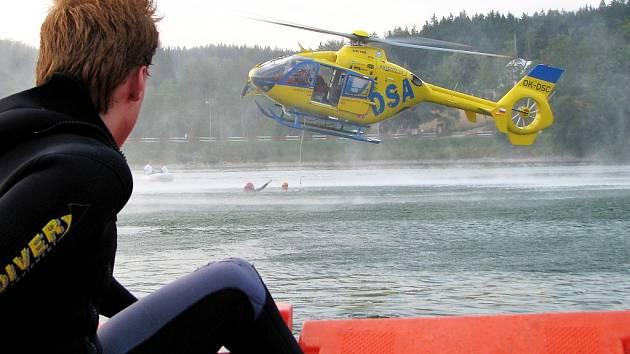 V Jablonci se připravují na Den s ISZ. Na programu je i zásah na vodní hladině mšenské přehrady, kde své umění předvede Vodní záchranná služba s leteckou záchrankou.