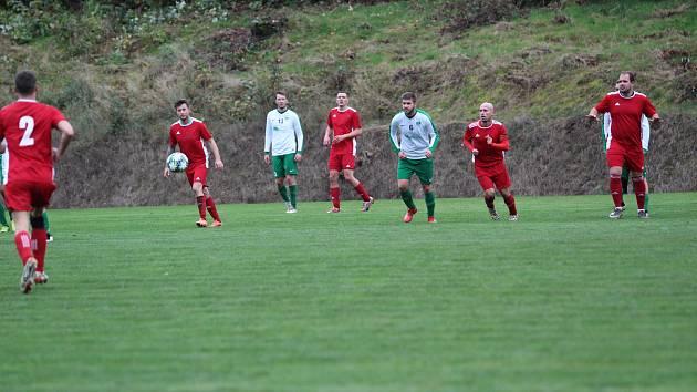 V utkání I.B třídy zůstaly body v Rychnově, utkání bylo bojovné, obě mužstva se hnala za vítězstvím. Šťastnější byli domácí.