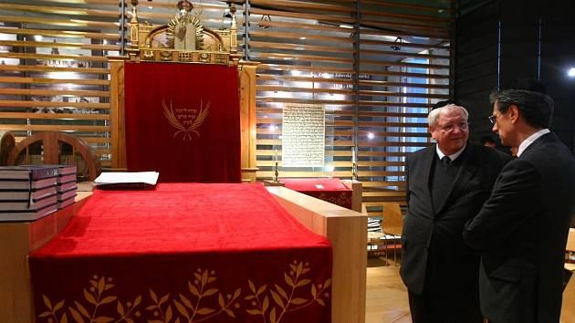 Z liberecké synagogy