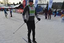 Hejtman Libereckého kraje Martin Půta před startem