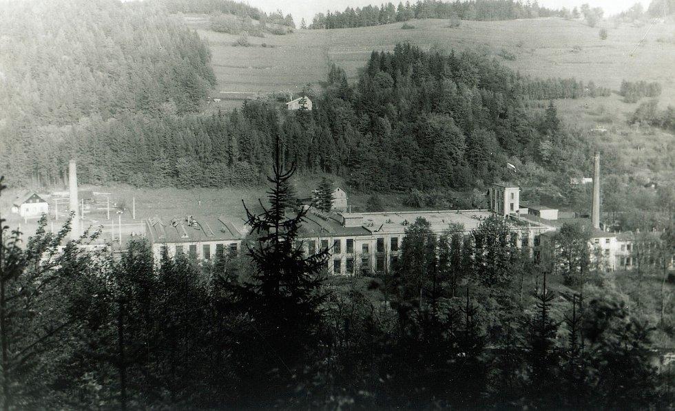Obec Líšný v historických snímcích.