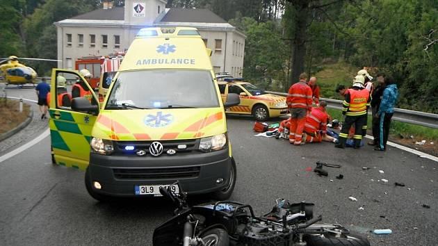 Tragická nehoda v Lučanech nad Nisou.
