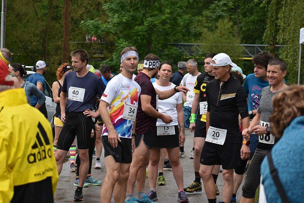 Premiérový nultý ročník Maloskalského půlmaratonu uvítal na startu přes padesát účastníků. Po povinné pauze byl zájem velký. Pořadatelé ho zvládli na výbornou.