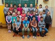 Prvňáci ze Základní školy Jablonec nad Nisou Pivovarská