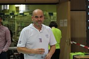 Miroslav Patrman je hlavním organizátorem mezinárodního závodu ve skocích na trampolíně, který se konal v Jablonci. Letos to byl už 46. ročník.