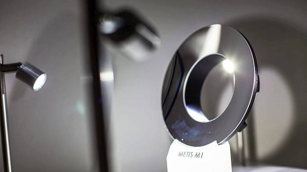 Zrcadlo koronografu METIS na palubě Solar Orbiter.
