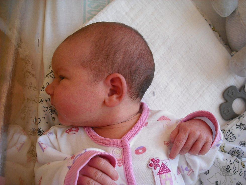 Viktorie Dvořáková. Narodila se 18.října v jablonecké porodnici mamince Tereze Dvořákové z Rychnova. Vážila 3,92 kg a měřila 52 cm.