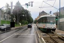 Viděli jste srážku tramvaje a auta na křižovatce ulic Liberecká a U Nisy v Jablonci?
