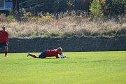 Na hřišti soupeře ztratilo hamrovské béčko poprvé v podzimní sezóně body.