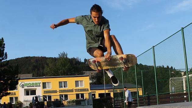 Skatepark - Ilustrační snímek.