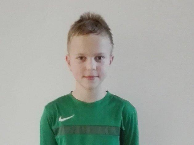 Jan Beránek, fotbalová naděje FK Jablonec kategorie U11, patří koporám týmu. Sleduje prvoligové zápasy a Jabloneckým by poradil lépe proměňovat šance.