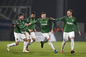 Fotbalisté Jablonce porazili Zlín 4:0