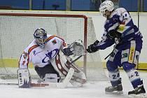 Jablonečtí Vlci v dalším utkání druhé hokejové ligy prohráli v nedělním podvečeru na ledě v Litoměřicích 3:5 (1:3, 1:1, 1.1).