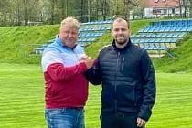 Jaroslav Strnad a Adam Pelta