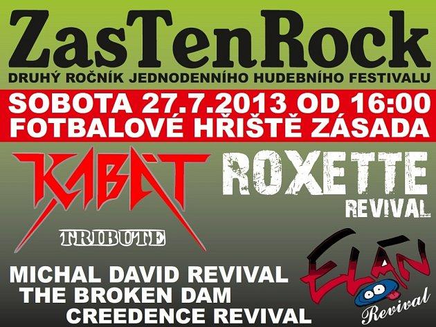 Festival ZasTenRock 2013 v Zásadě