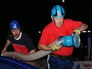 Sbor dobrovolných hasičů Vlastiboř. Noční soutěž v Huti.