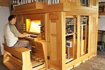 Pětadvacáté varhany rodinné firmy Žloutkových