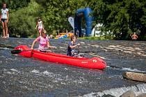 Vodácké závody S ČT Sport na vodu pokračovaly 24. července na řece Jizeře na Malé Skále. Závodní trať byla kombinací vodního slalomu, sjezdu na divoké vodě a rychlostní kanoistiky.
