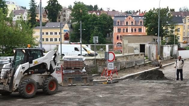 Rekonstrukce mostu Kamenná v loňském roce