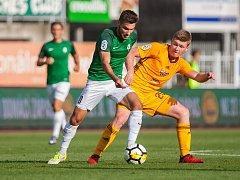Zápas 4. kola první fotbalové ligy mezi týmy FK Jablonec a FK Dukla Praha se odehrál 20. srpna na stadionu Střelnice v Jablonci nad Nisou.