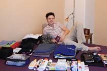 Klára Aljančičová z Jablonce odjela na pětiměsíční praxi v Ugandě.
