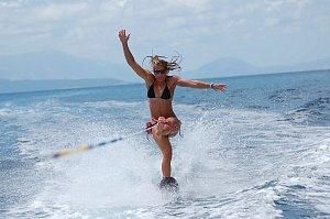 Ester Ledecká miluje vodní sporty