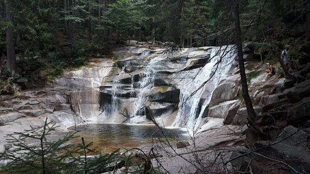 Mumlavské vodopády.