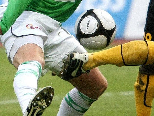 Fotbalové utkání FK BAUMIT. Ilustrační snímek.
